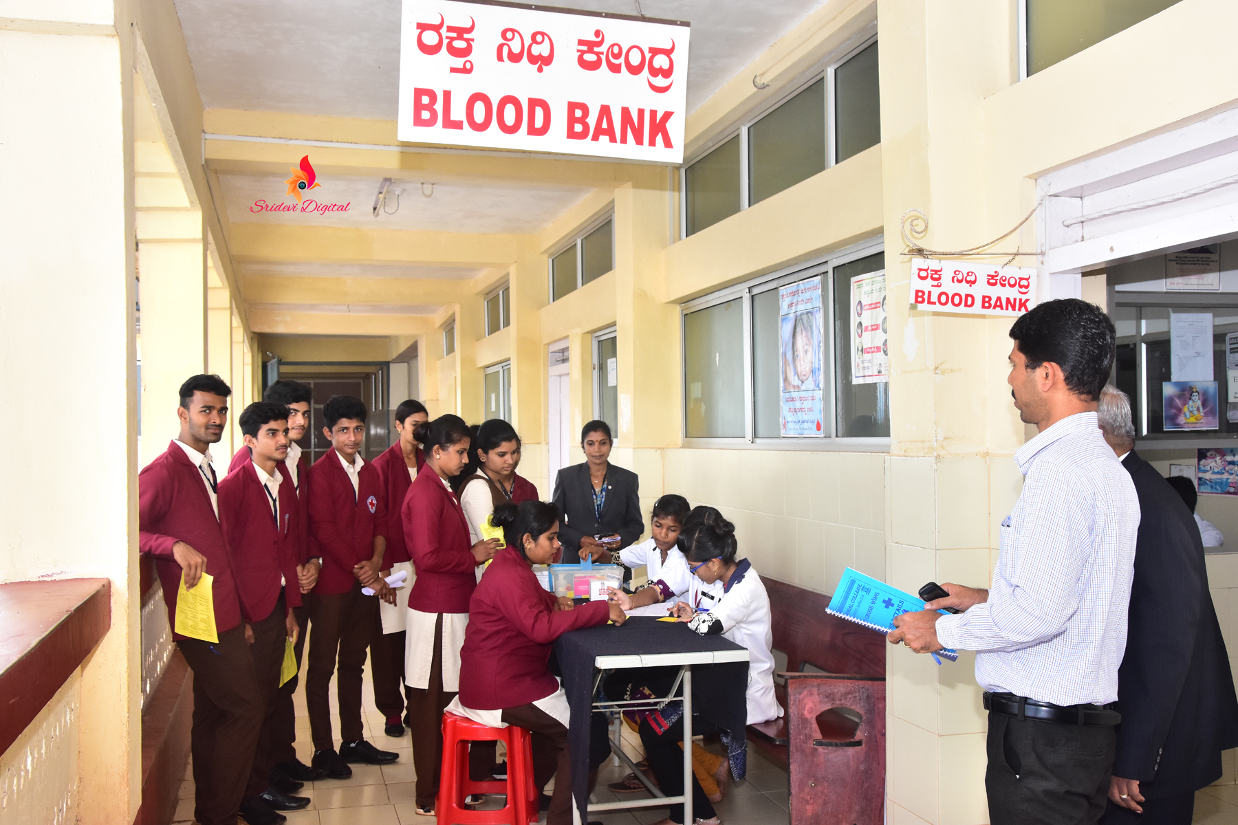 Voluntary Blood Donation camp - KVG Medical College